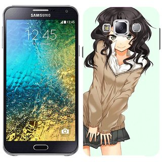 Samsung E7 E7000 Design Back Cover Case - Irl Skirt Modesty