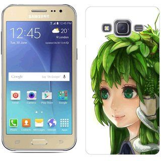 Samsung J2 Design Back Cover Case - Een Leaves Anime