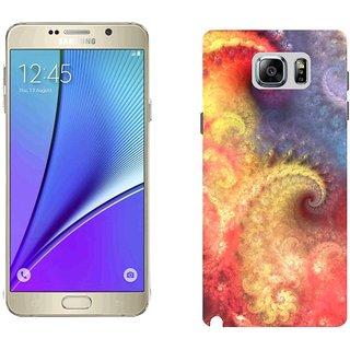 Samsung Note5 Design Back Cover Case - Erns Form Light Lines
