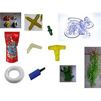 Aquarium combo pack of 42 pieces