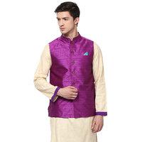 Yepme Russo Nehru Jacket - Purple