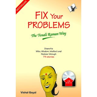 FIX YOUR PROBLEMS - THE TENALI RAMAN WAY (with Audio CD)