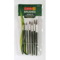 Camlin Paint Brush Series 52 - Round Pony Hair, Set of 7 Pack of 2