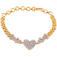 ENZY Love  Heart Diamond Bracelets
