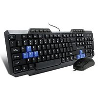 Amkette Xcite NEO USB Keyboard  Mouse Combo(Black)