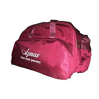 Apnav Maroon Travelling Bag