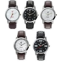 Rico Sordi Set of 5 leather watch (RSD921L51)