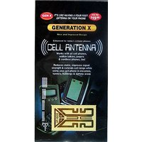 Generation X Plus Cell Phone Antenna Booster And Anti Radiation