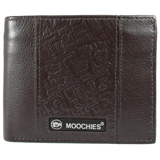 Moochies Gents leather wallet, Size-10x12x2 CMS,Color-Brown