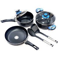 Lacuzini7 Pcs Non Stick Cookware Set