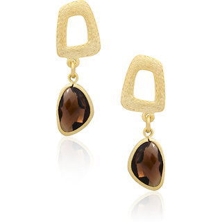 Charming Smoky Topaz Faceted Drops