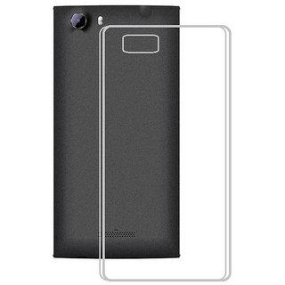 Snaptic Soft Transparent Back Cover for Panasonic Eluga Mark