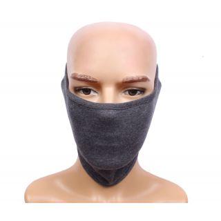 Sushito Ridding Gray  Half Face Mask For Men JSMFHFM0522