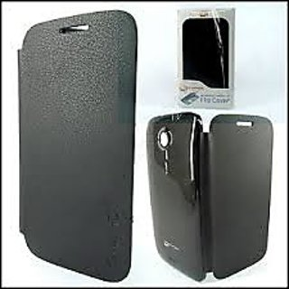 MICROMAX  A116 FLIP COVER Black Canvas HD available at ShopClues for Rs.149