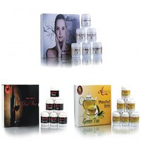Herbal Party Glow Fairness Facial Kit (Combo Kit)