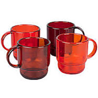 TUPPERWARE COFFEE MUGS ( SET OF 4)