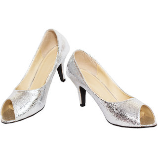 Rialto Silver Heel Sandal for women