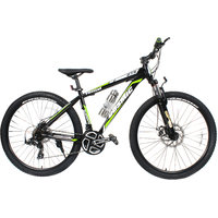 Cosmic Trium 27.5 Inch Mtb Bicycle 21 Speed Black-Green-Premium Edition