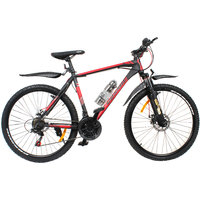 Cosmic Eldorado 1.0L 21 Speed Mtb Bicycle Black-Red-Premium Edition