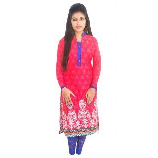 VIRAL GIRL Womens Printed Cambric Cotton Kurti