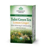 Tulsi Green Tea Lemon Ginger