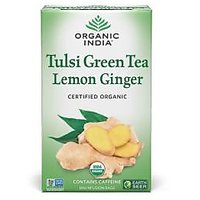 Tulsi Green Tea Lemon Ginger