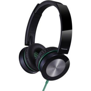 Panasonic RP-HXS400E-K Wired Headphones (Black, Over the Ear)
