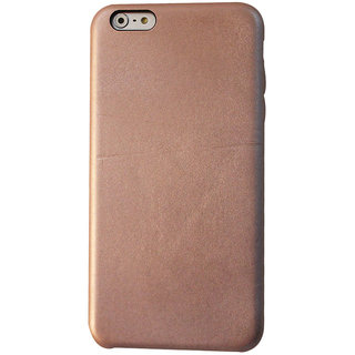 Callmate Leather Touch Back Cover for iPhone 6 Plus - Rose Gold