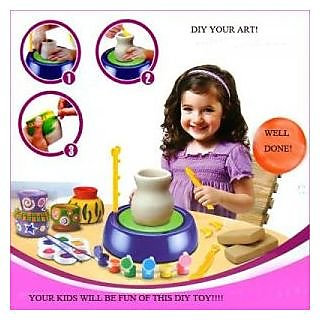 Kids Battery Operated Potters Wheel Game
