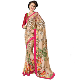 Aesha Fancy Crepe Saree Aesha_924
