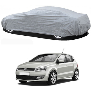 Stylobby Silver Car Cover For Volkswagen Polo