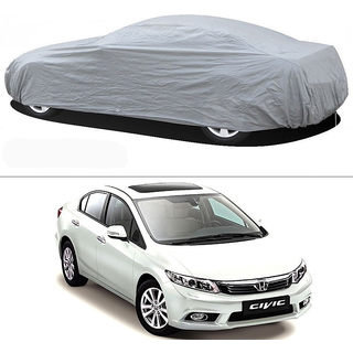 Stylobby Silver Car Cover For Honda Civic