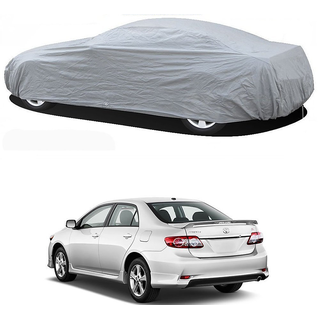 Stylobby Silver Car Cover For Toyota Corolla Altis