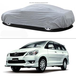 Stylobby Silver Car Cover For Toyota Innova