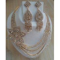 Designer Necklace with Austrian Diamond By NishTag Brand