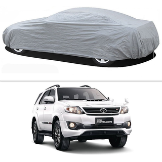Stylobby Silver Car Cover For Toyota Fortuner