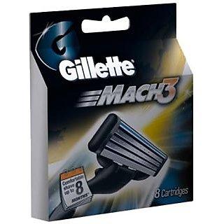 Gillette Mach3 Blades - 8 Cartridges