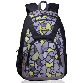 F Gear Shielder 3D P Yellow Polyester Backpack