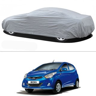 Stylobby Silver Car Cover For Hyundai Eon