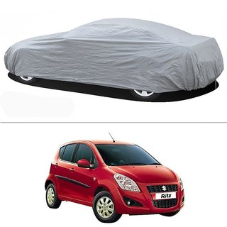 Stylobby Silver Car Cover For Maruti Ritz