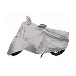Favourite Bikerz Silver Polyester Body Cover For Honda CBF Stunner