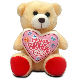 Giftcart -  Happy Birthday Dear Friend Brown Teddy