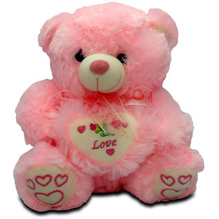Giftcart - Heart of Love Pink Teddy With Heart