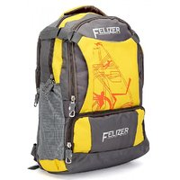 Felizer Yellow Casual Polyester Backpacks