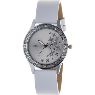 Killer Silver Dial Analog Watch for Women KLW6006A