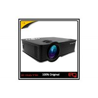 EGATE 1200 Lm I9  LED Corded Portable Projector(Black)