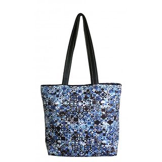 Lushomes Aztec Digital Printed Polyester Tote