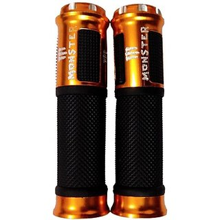 Favourite BikerZ 3160 Bike Handle Grip For Bajaj Platina 100 DTS-i         (Pack of 2)