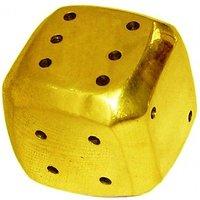 HPA  Dice Incense Holder Brass Incense Holder HANDMADE