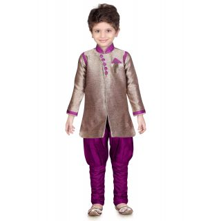 Jeet Stylish Purple Kurta Pyjama Suit for Boys